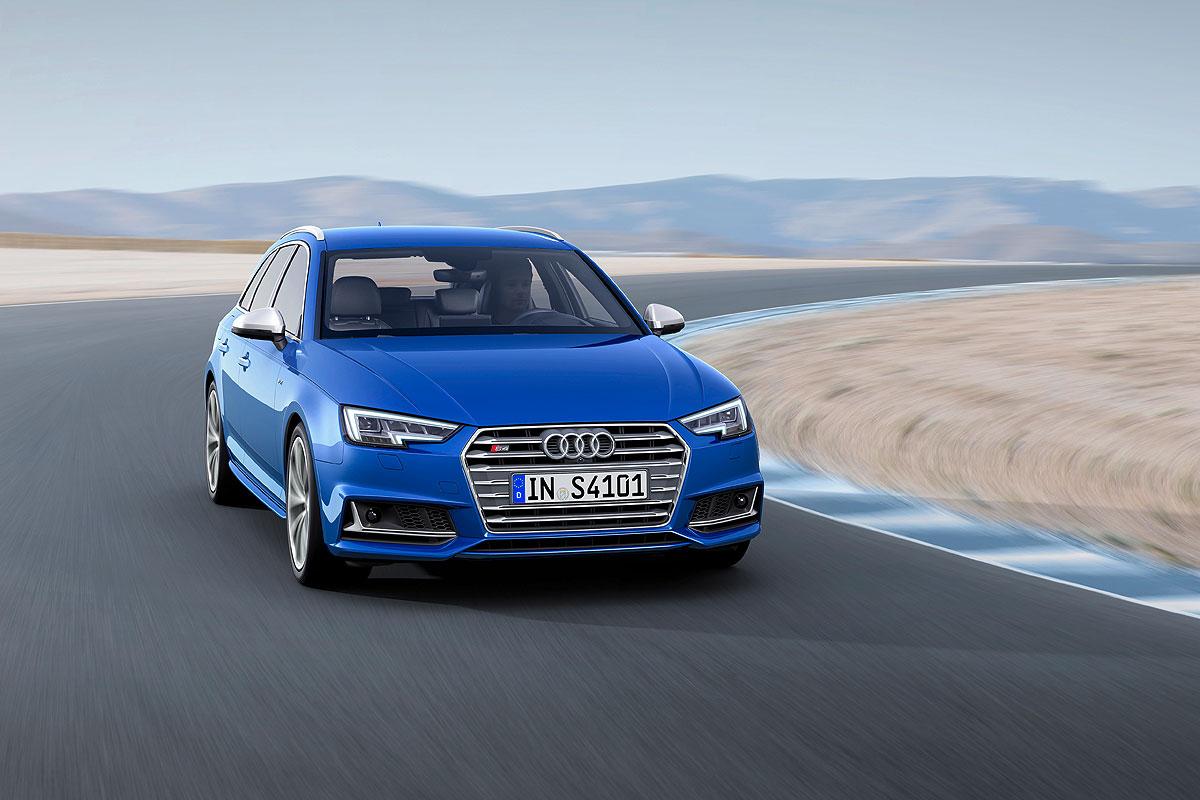 用速度旅行,新款Audi S4 Avant日内瓦展前露面