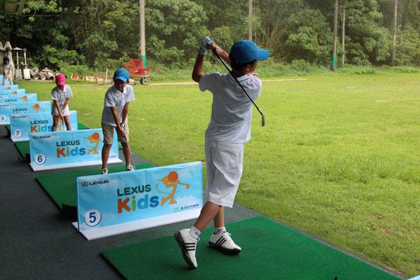 『lexus儿童高尔夫公开赛』将於8月25日於台中国际高尔夫球场正式开打