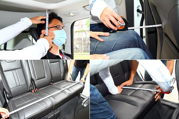 再进入后座坐定并系上安全带