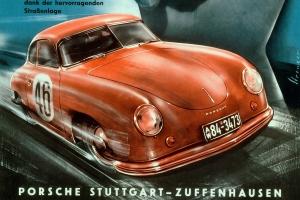 Porsche二十世紀速度藝術:來自Erich Strenger賽車海報