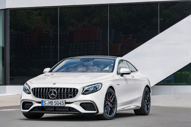 2017法蘭克福車展:Mercedes-AMG S 63 4Matic+ Coupe & Cabriolet