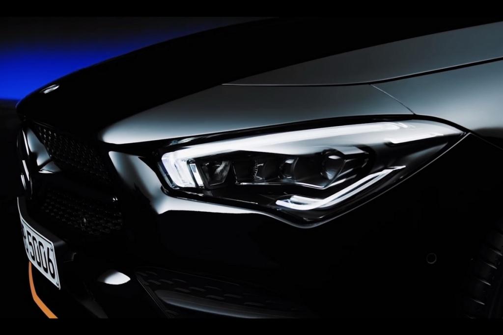 預告片搶先看!M-Benz新一代CLA將於2019 CES全球首演