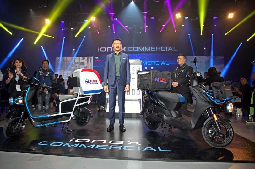進軍電動二輪商用車市場,KYMCO 光陽工業「Ionex車能網商業版」提供多種解決方案正式在台發表!
