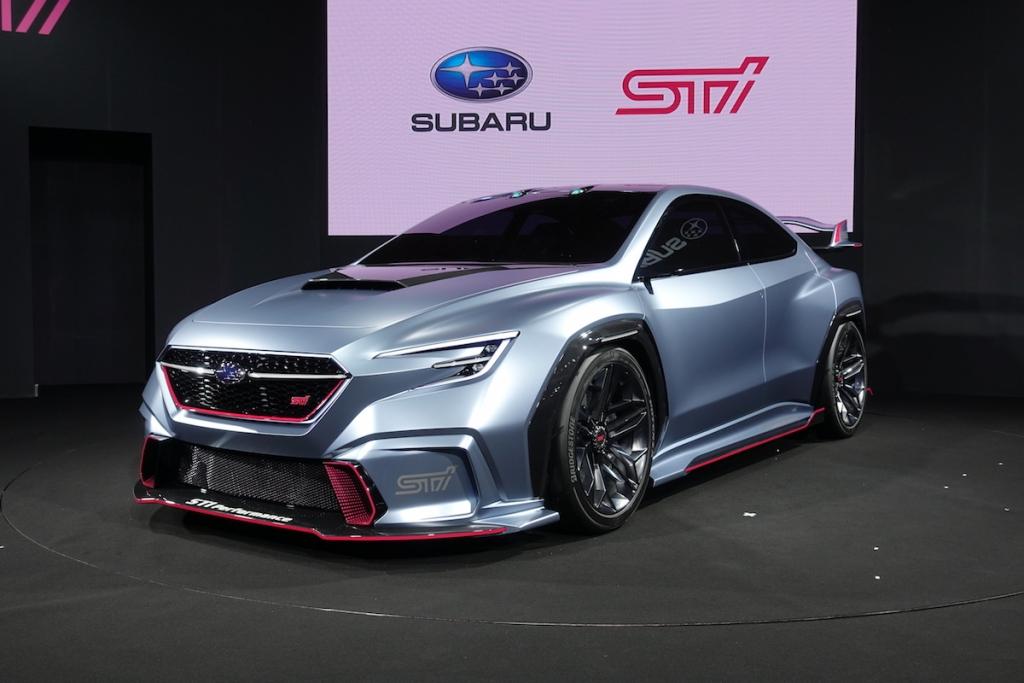 2020 Wrx Sti >> 2018 東京改裝車展:Subaru STI 問世30週年作品,Viziv Performance STI Concept 正式亮相 - CarStuff 人車事