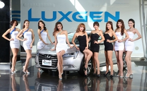 2016台北車展Luxgen Girls X S5 Turbo Eco Hyper同台登場