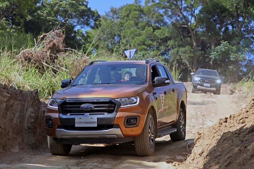 越野硬漢多了點斯文氣息,2019 Ford Ranger 二度小改速邑賽車場全方位體驗