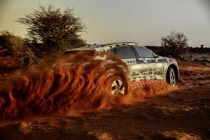 原來Audi e-tron是很適合越野的!
