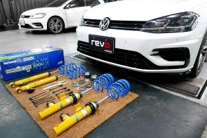 BILSTEIN倍適登將操控主動權還給駕駛,Volkswagen Golf R安裝主動式電子避震器全紀錄