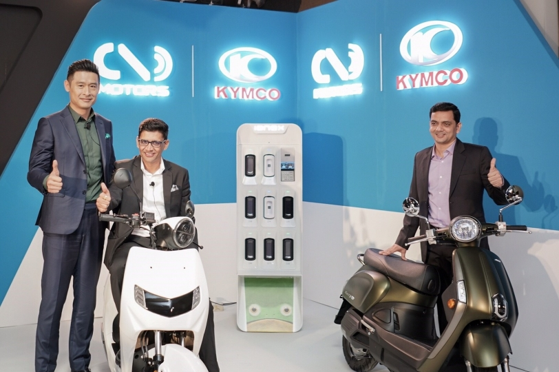 KYMCO Ionex車能網國際聯盟成形,與印度獨角獸新創電動車公司合作全面導入Ionex車能網!