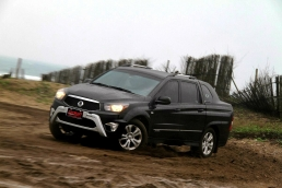 A級勇者!SsangYong Actyon Sports