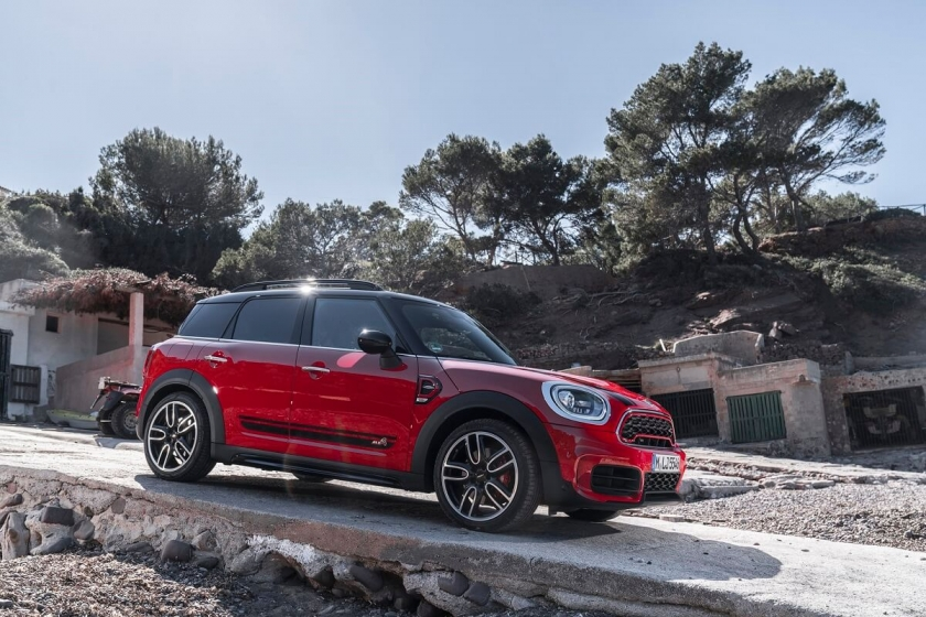 新一代Mini John Cooper Works Countryman ALL4 216萬起,剽悍上市