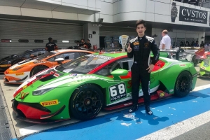 2018 Lamborghini Super Trofeo Asia亞洲挑戰賽日本富士站 Lamborghini Taipei代表車手陳意凡二度登頂Pro-Am組別分組冠軍席次