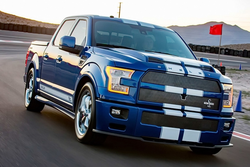 Raptor靠邊閃!! Shelby F-150 Super Snake 750hp最速降臨