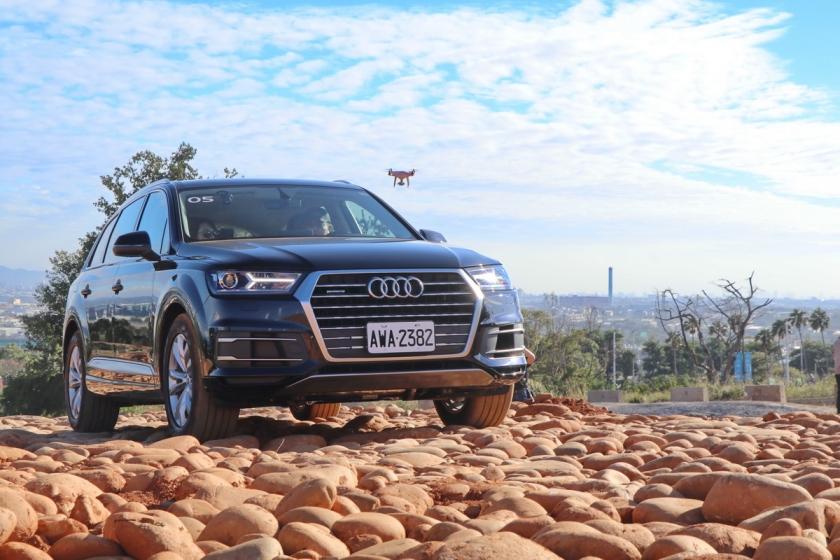 Audi與麗寶合作的第一步,越野場...