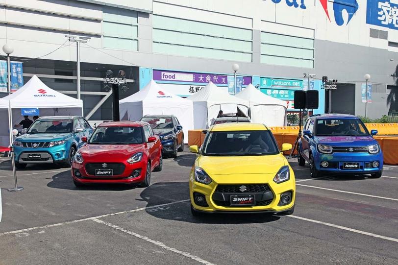 在台規模最大!Suzuki「GO UNIQUE FUN DRIVING」全國戶外展演體驗活動開跑!