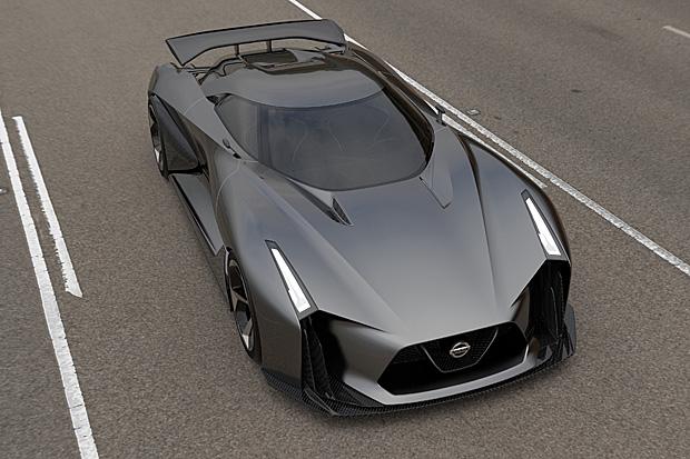 慶賀跑車浪漫旅15周年,Nissan Concept 2020 Vision Gran Turismo先行曝光 ...