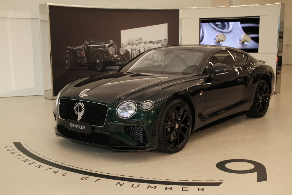 致敬Tim Birkin傳奇9號利曼賽車,全球限量百台Bentley Continental GT Number 9 Edition by Mulliner登台