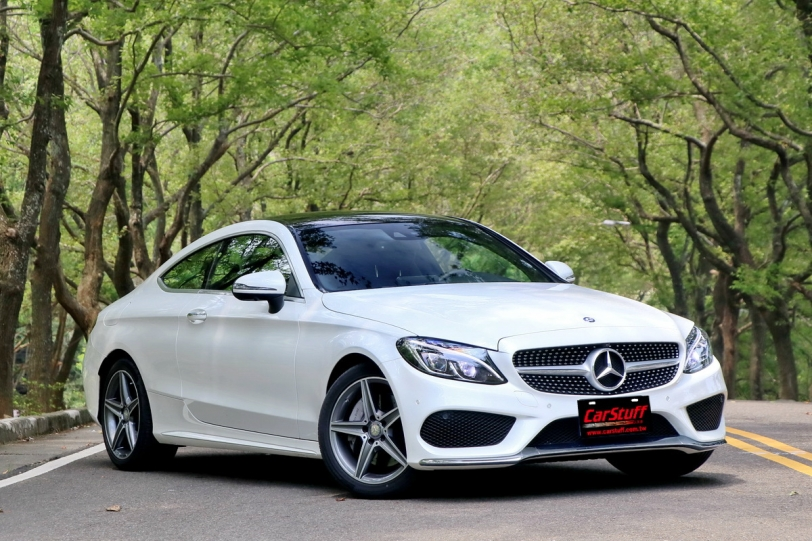 美型.雙人共享,Mercedes-Benz C 250 Coupe AMG Line