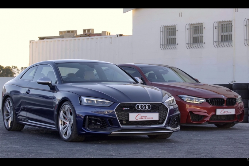 直線對決:Audi RS5 Coupe Vs. BMW M4 Competition Pack!