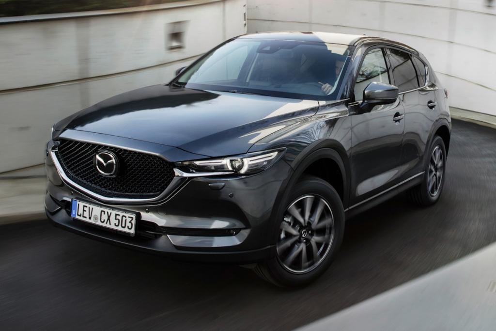 換裝小幅改良 SKYACTIV-D 柴油引擎,Mazda CX-5 2018年式將於 2月日本亮相 ...
