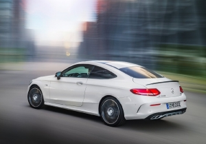 M-Benz C43 AMG 4Matic Coupe登場!