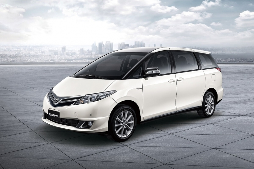 Toyota ALL NEW Previa 大器登場!