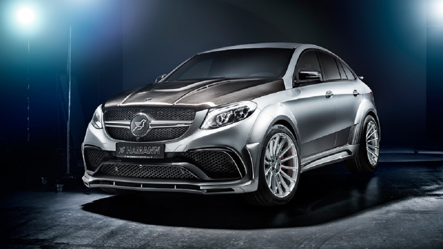 Hamann爆改Mercedes AMG GLE Coupe(內有影片)