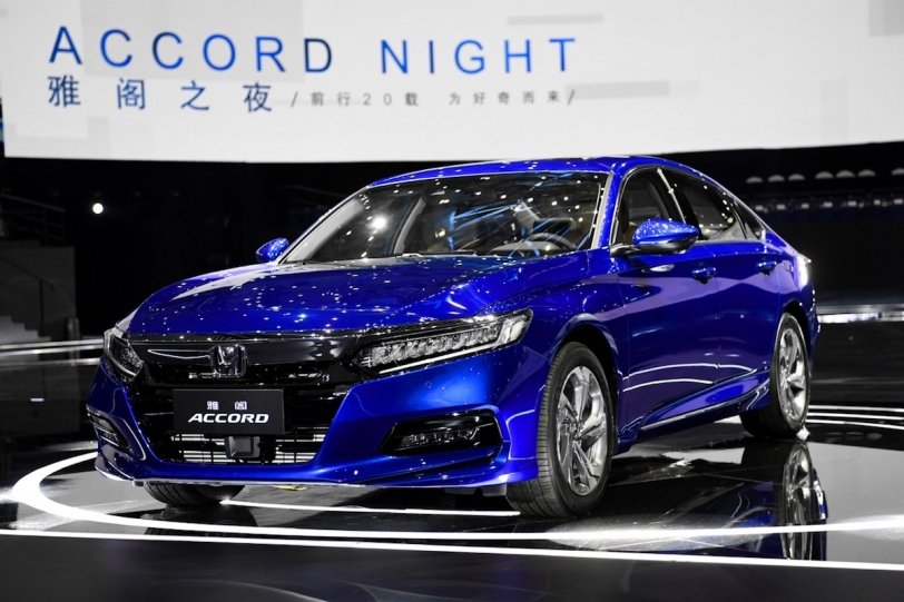 2018北京車展:廣汽本田 Honda Accord 260TURBO / 230TURBO 第十代正式亮相