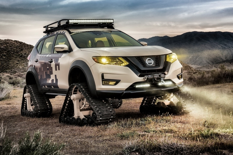 2017紐約車展:大腳越野戰士!Nissan Rogue Trail Warrior Project概念呈現