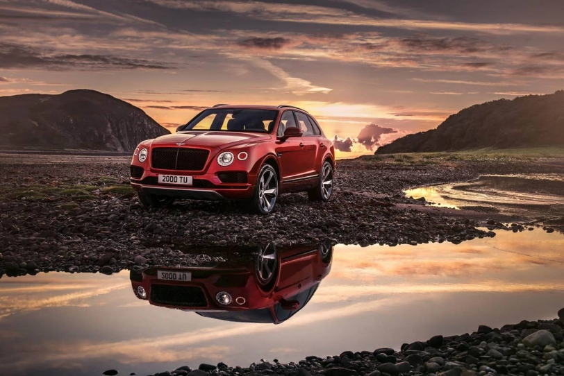 2018北京車展:Bentley Bentayga V8正式發表!