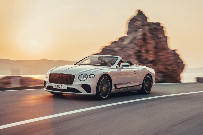 2018洛杉磯車展:上空豪奢風情由Bentley Continental GT Convertible來詮釋