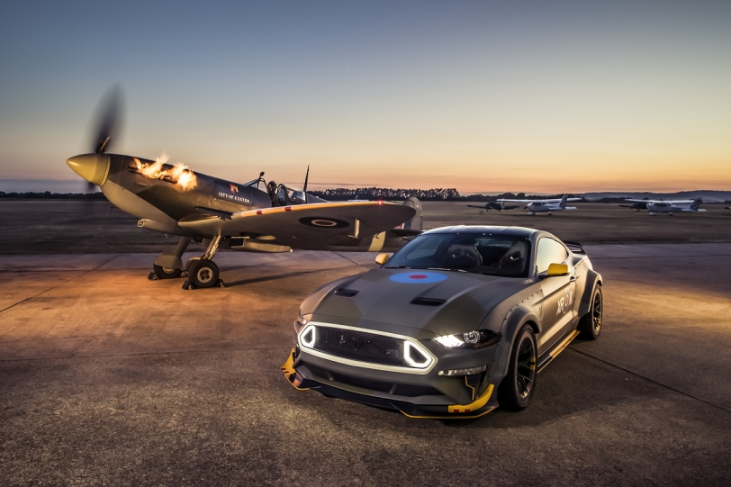 Ford噴火戰鬥機野馬Eagle Squadron Mustang GT落槌價42萬美元!