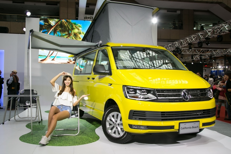 2017台北新車大展,Volkswagen T6 California Beach享受露營樂趣