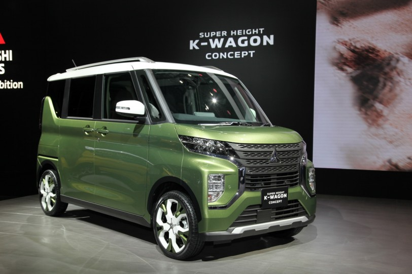 2019東京車展直擊:Mitsubishi Super Height K-Wagon Concept預覽下一代eK Space