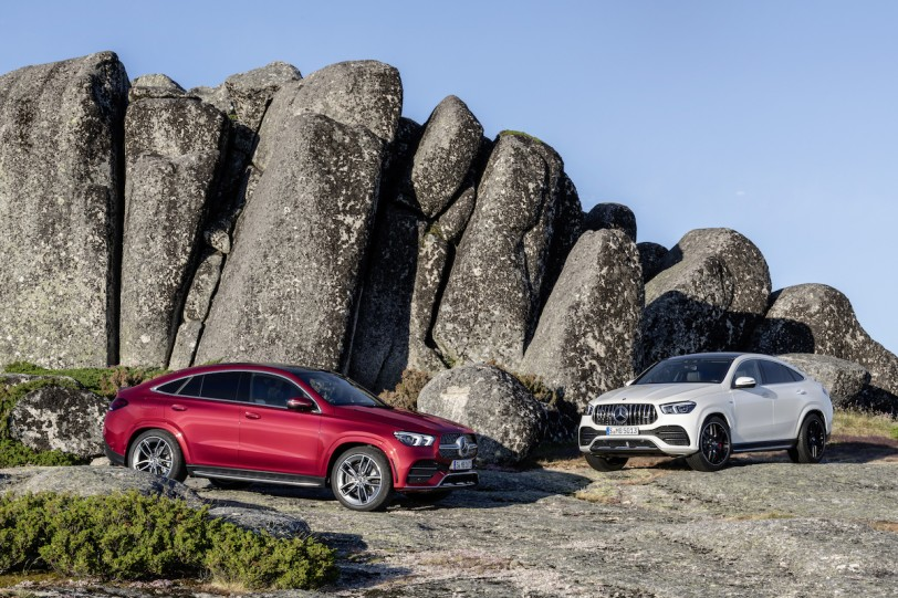 AMG GT 外型元素導入,Mercedes-Benz 第二世代 GLE Coupe / AMG GLE 53 Coupe  4MATIC+發表