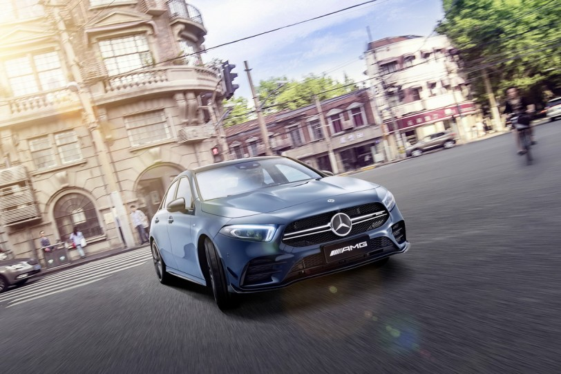 2019上海車展:軸距拉長60mm,中國限定M-Benz A 35 L 4MATIC報到
