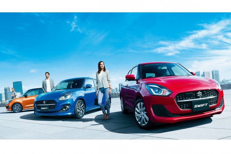 日規Suzuki Swift / Swift Sport年式變更,新增Hybrid車型、強化安全配備!