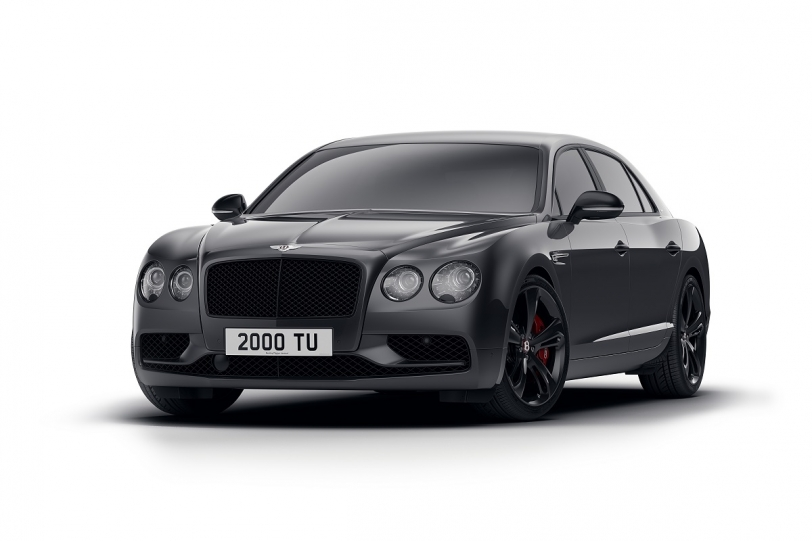 Bentley的暗黑新作!Flying Spur V8 S Black Edition