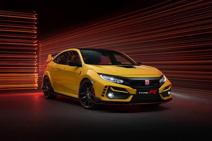 Honda Civic TYPE R 小改款細節釋出、新增全球限定 1020 台軽量仕様 TYPE R Limited Edition!