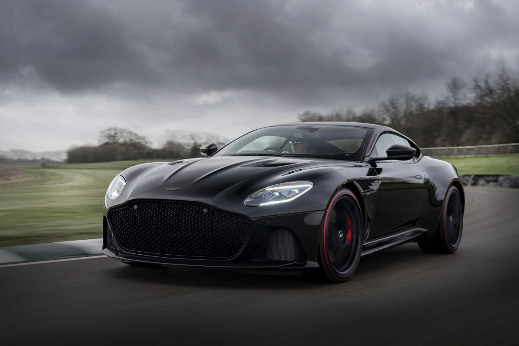 Aston Martin推出豪雅版DBS Superleggera TAG Heuer