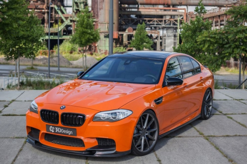 818hp的幸福家庭房車,BMW F10 M5 By 3DDesign