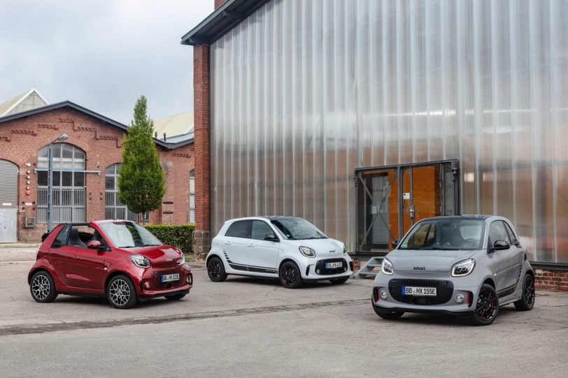 EQ fortwo/ fortwo Cabrio / forfour三箭齊發,smart全電動車系時代來臨